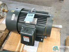 10 HP TOSHIBA TYPE 1KKH ELECTRIC MOTOR, 2,400 RPM (NEW)
