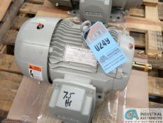 7.5 HP SIEMANS TYPE SD100 IEEE ELECTRIC MOTOR, 1,765 RPM (NEW)