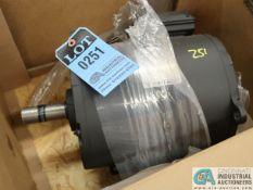 7.5 HP WEG MODEL 007180T3E213T-S ELECTRIC MOTOR, 1,770 RPM (NEW)
