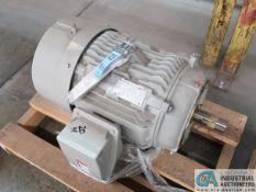 20 HP SIEMENS TYPE SD100 IEEE ELECTRIC MOTOR, 1,180 RPM (NEW)