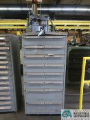 8-DRAWER LISTA TYPE CABINET WITH TOOLING