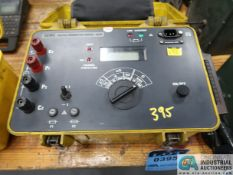 AEMC MODEL 5600 MICRO OHMMETER