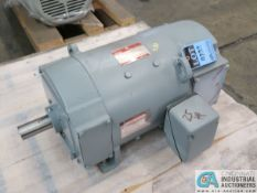 25 HP GE TYPE CD287A1 ELECTRIC MOTOR, 1,750 RPM (NEW)