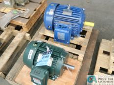 3 HP TOSHIBA AND WESTINGHOUSE MOTORS (NEW)