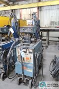 300 AMP MILLER CP-300 WELDER; S/N N/A, WITH MILLER MILLERMATIC S-54E WIRE FEEDER