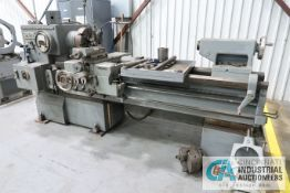"20"" X 48"" LODGE AND SHIPLEY AVS ENGINE LATHE; S/N 45940, 12"" 4-JAW CHUCK, TAILSTOCK, STEADY REST,"