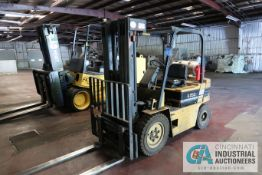 **5,000 Lb Daewoo Model FG25S-2 LP Gas Pneumatic Tire Lift Truck; S/N 12-08048**LOCATED OFFSITE**