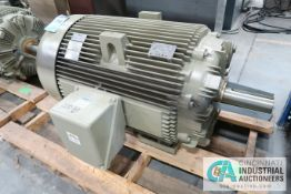 200 HP GE CAT NO. M9362 ELECTRIC MOTOR, 1,790 RPM (NEW)