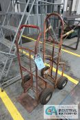 (LOT) 2-WHEEL HAND TRUCKS