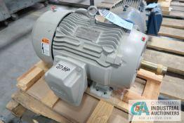 20 HP SIEMENS ELECTRIC MOTOR, 3,560 RPM (NEW)