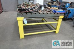 "60"" X 60"" T-SLOTTED WELDING TABLE"