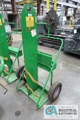 ACETYLENE CART WITH HOSE AND GAGES