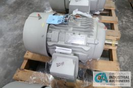 20 HP SIEMENS TYPE SD100-IEE FRAME 286T ELECTRIC MOTOR, 1,180 RPM