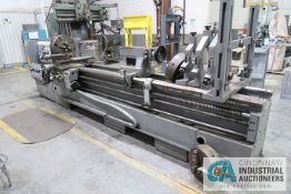 "30"" / 40"" X120"" LION MODEL C10MS GAP BED ENGINE LATHE; S/N 2092, 20"" 4-JAW CHUCK, TAILSTOCK, (3)"