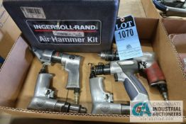 MISC. PNEUMATIC TOOLS INCLUDING AIR HAMMERS, METAL SHEAR, DRILLS