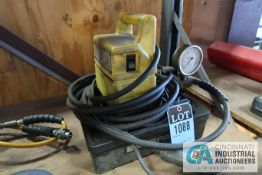 ENERPAC MODEL PUJ12018 HYDRAULIC PUMP