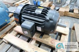 15 HP BALDOR CAT NO. 85600-H24 ELECTRIC MOTOR, 3,500 RPM (NEW)