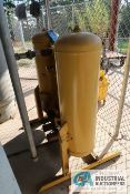 **(LOT) KAESER MODEL KADE-165 AIR DRYER WITH (2) AIR TANKS AND FILTERS **SOLD SUBJECT TO BID
