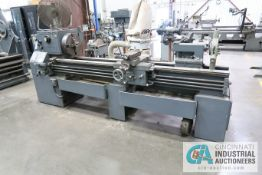 "20"" X 70"" LEBLOND (REGAL) ENGINE LATHE; S/N 6F-298, 16"" 4-JAW CHUCK, TAILSTOCK, STEADY REST, 25-1,"