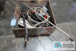 (LOT) ASSORTED PRESSURE WASH ACCESSORIES, WANDS AND HOSE