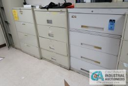 4-DRAWER LATERAL CABINETS