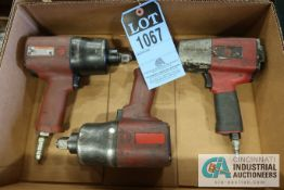 "PNEUMATIC IMPACT WRENCHES; (2) 3/4"" & (1) 1/4"""