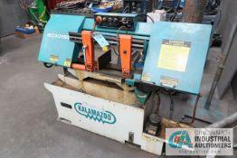 CLAUSING KALAMAZOO MODEL KC1016W HORIZONTAL BAND SAW; S/N 10311261, 2 HP (NEW 2014)