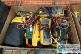 (LOT) FLUKE INSULATION & ELECTRIC METERS