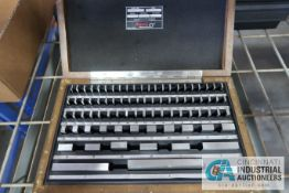 ".05"" - 4"" STARRETT BLOCK SET"