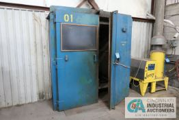 6' X 8' X 7' BAYCO NATURAL GAS FIRED OVEN **OUT OF SERVICE** **TAW WILL COVER OPENING IN WALL**