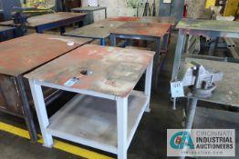 HEAVY DUTY STEEL TABLES