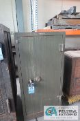 "25"" X 27"" X 51"" HIGH SHAW-WALKER TWO-DOOR COMBINATION SAFE **LOCKED CLOSED - NO COMBINATION**"