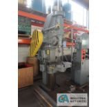 """22-1/2"""" BARNES DRILL CO. HEAVY DUTY VERTICAL DRILL, 5 HP MOTOR, 3-PHASE, 220/440 VOLTS"""