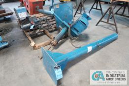 "(LOT) 87"" HIGH (APPROX.) STANDS WITH (20 24 VOLT 60 SERIES WIRE FEEDER AND (1) EXTRA WIRE FEEDER"