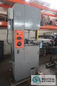 """16"""" DOALL MODEL V16 VERTICAL BAND SAW WITH BLADE WELDER; S/N 441914, 3-PHASE, 220 VOLTS, 120"""" MAX"""