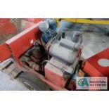 ESSICK MODEL FME5-1 ELECTRIC PORTABLE CONCRETE PUMP; S/N 971205