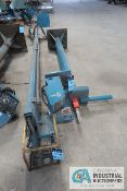 "87"" HIGH (APPROX.) BASE X 12' BOOM MILLER SWINGARC CV BOOM MOUNTED SINGLE WIRE FEEDER SYSTEM WITH 24"