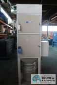 DCE MDOEL UMA72GIAD UNIMASTER BOTTOM DISCHARGE DUST COLLECTORS; S/N 89-1730/40 AND 90-1107/3