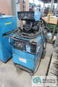 300 AMP MILLER SHOPMASTER 300 AC/DC CC/CV - AC/DC ARC WELDING POWER SOURCE; S/N JK699146, WITH 115