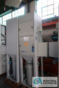 DCE MODEL UMA73GIAD UNIMASTER BOTTOM DISCHARGE DUST COLLECTORS; S/N 97-1213/03 AND 98-1353/05