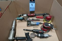 (LOT) MISCELLANEOUS PNEUMATIC HAND TOOLS