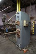 "75 KVA FIM MODEL 516-002 PRESSHEAD TYPE SPOT WELDER; S/N RB061584, 20"" THROAT, 220 VOLTS"
