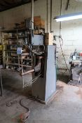"75 KVA FIM MODEL 516-174 PRESS TYPE SPOT WELDER; S/N RA81485, 25"" THROAT, 220 VOLTS"