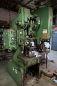 "35 TON BLISS MODEL C35 OBI PRESS; S/N H65572, 3"" STROKE, 2-1/2"" ADJUST., 10-3/4"" SHUT HEIGHT, PALM"