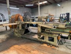 """108"""" SWING SPINNING LATHE WITH 42"""" FACE PLATE"""