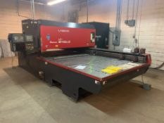 AMADA MODEL LASMAC LC2415AIII CNC LASER MACHINE; S/N 25580725 (NEW 2-2001), FANUC SERIES 160I-L