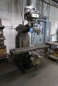 3 HP MILLPORT MODEL 3KVA VERTICAL MILLING MACHINE; S/N 4795, WITH ACU-RITE DRO (NEW 3-30-1984)