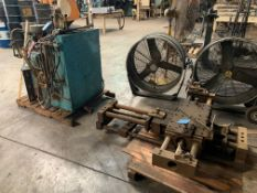 HEAVY DUTY HYDAULIC SPINNING LATHE TOOL POST WITH HYDRAULIC UNIT AND CONTROL
