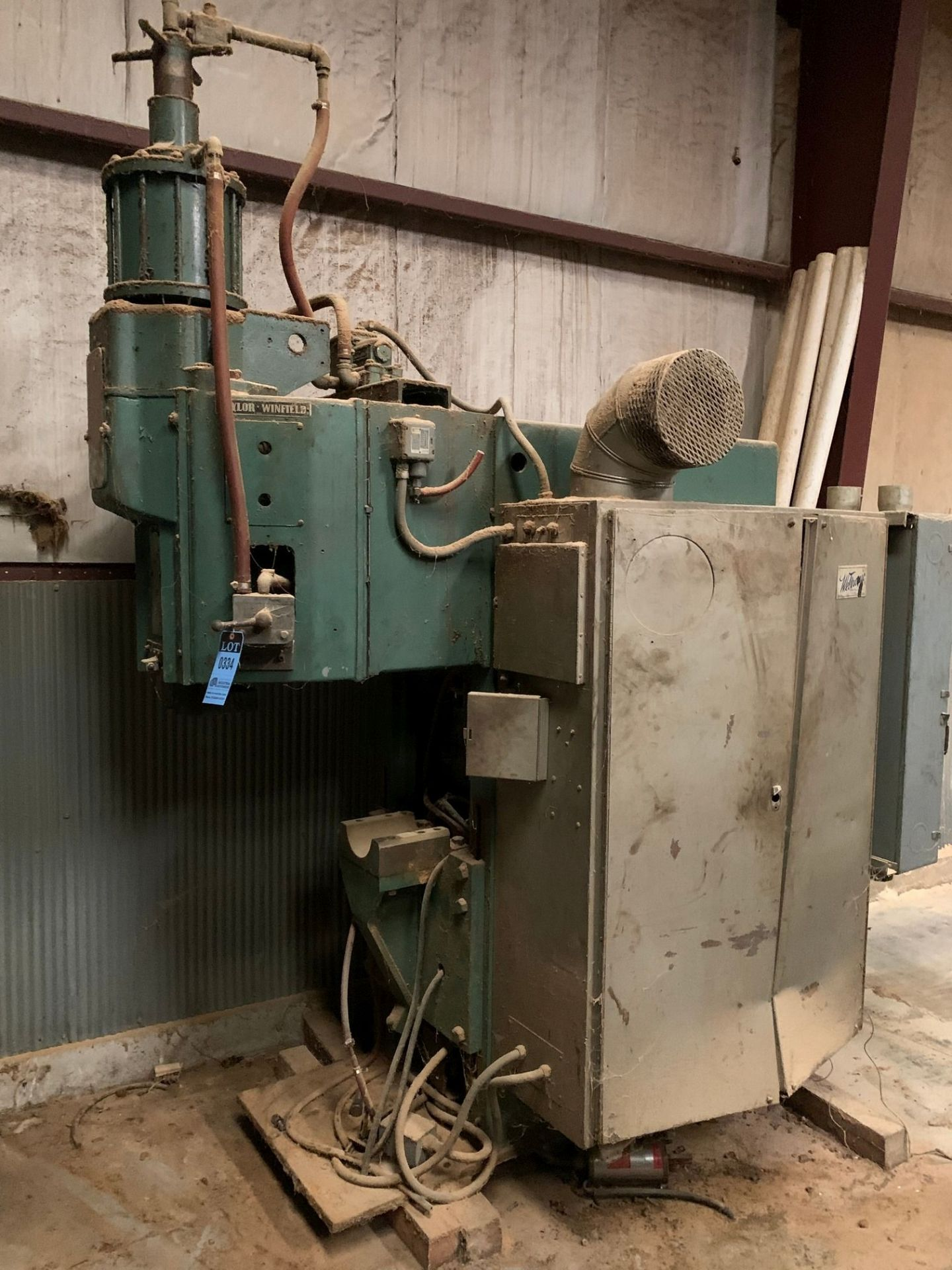 TAYLOR WINFIELD 200 KVA SPOT WELDER **MISSING ARMS** - Image 2 of 4