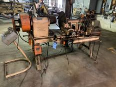 "20"" HAAG SPIN MASTER SPINNING LATHE WITH AIR FEED"